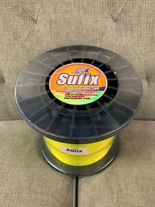 Sufix Superior Monofilament 25# Hi-Vis Yellow (4.4lb Spool) Fishing Line