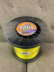 Sufix Superior Monofilament 30# Hi-Vis Yellow (4.4lb Spool) Fishing Line