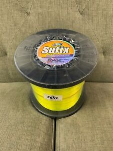 Sufix Superior Monofilament 40# Hi-Vis Yellow (4.4lb Spool) Fishing Line