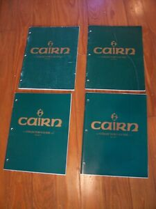 4 Volumes of the CAIRN Collector's Guide, Tom Clark, I, II, V, VI