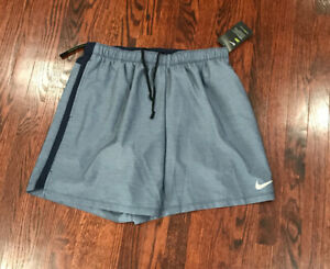 Nike 7 Men's Running Workout Shorts w Liner 908798 451 Blue Navy 2Xl $22.00