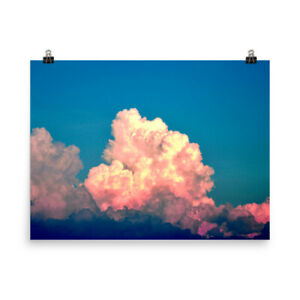 Pink Storm Cloud Fine Art Photo Print Poster $14.00