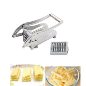 Manual Potato Slicer Chipper Kitchen Snack Vegetable French Fries Cutter Tool