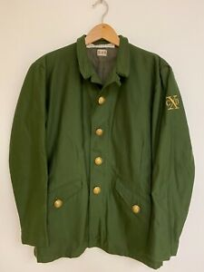 CRIME BY DESIGN CxD French Military Wool Jacket $2750 Chris Brown Yard Sale 48 $799.99