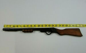 ANTIQUE CORK TOY GUN BY quot;ALL METALS PRODUCTS CO. MICHIGANquot; $85.00