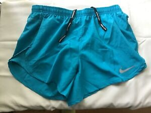 Women's NIKE DRY FIT Running Shorts, Size XS, Turquoise Color, NWT $13.50