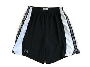 Mens Under Armour Black Loose Fit Shorts Size Small $7.50