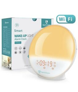 HEIMVISION A80S WAKE UP LIGHT ALARM CLOCK SMART CONTROL NEW in BOX