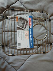 Franke USA Double Bowl Sink Grid Protects From Scratches Open Box