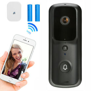 Wireless WiFi Video Doorbell Smart Door Ring Intercom Security Camera Bell