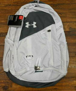 Under Armour Hustle 4.0 Backpack 1342651 100 , White Pitch Gray $37.50