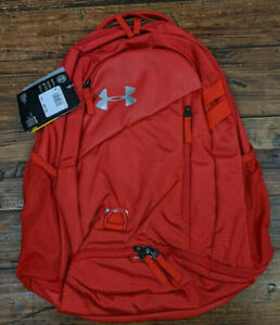 Under Armour Hustle 4.0 Backpack 1342651 600 , Red Red $37.50