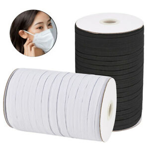1 4quot; Inch Heavy Elastic Band Cord Sewing Trim for DIY Face Mask 10 130 Yards $9.49
