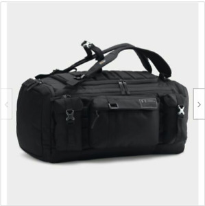 UNDER ARMOUR CORDURA RANGE DUFFLE BAG BLACK ROCK ARMOR UA FACTORY SEALED $349.90