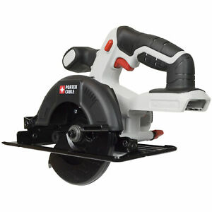 PORTER CABLE PCC661 20V Lithium Ion 5 1 2 inch Cordless Circular Saw TOOL ONLY $49.99