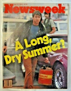 NEWSWEEK quot;A LONG DRY SUMMER?quot; 1979 VINTAGE $19.95