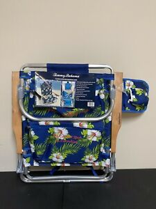 Tommy Bahama Beach Chair With Backpack And Cooler Green Floral