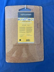 Cutting Boards by Epicurean, 2 Piece, Natural