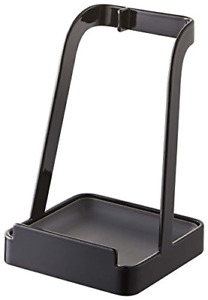 YAMAZAKI Home 2249 Tower Ladle Holder-Lid Stand for Utensils in Kitchen, Black