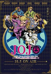 HIGH QUALITY Jojo#x27;s Bizarre Adventure Golden Wind Poster 14x20 Anime Manga Otaku $13.99