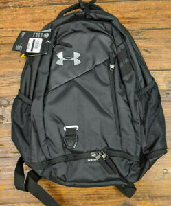 Under Armour Hustle 4.0 Backpack 1342651 001 , Black Black $37.50