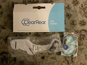 Clear Rear Bidet - Natural Fresh Water Spray, Dual Nozzle Toilet Attachment NEW
