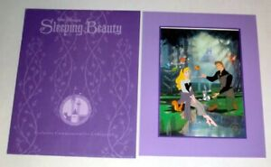Walt Disney Sleeping Beauty Exclusive Commemorative Lithograph FREE SHIPPING! $14.99
