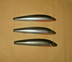 Bagleys Tennessee Shad 3 Inch Bang-O-Lure Bait Blanks Winter Haven Lot of 3