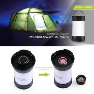 Portable LED Camping Lantern Tent Light USB ReChargeable Lamp Emergency US Wt $6.59