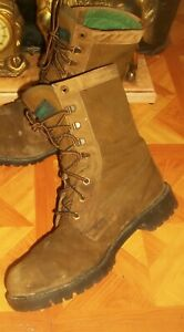 Wolverine Insulated Gore-tex Hunting Boots Wolverine Combat Boots Work Boots 9.5