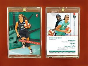 Sabrina Ionescu Rookie Card NY Liberty 2020 #1 WNBA pick Generation Next