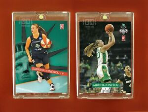 Sabrina Ionescu Rookie 2 Card set NY Liberty Oregon Generation Next