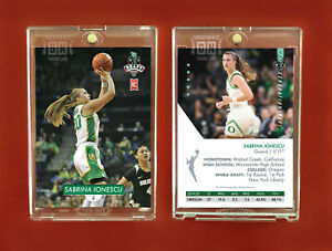 Sabrina Ionescu Rookie Card Oregon 2020 #1 WNBA Draft pick Generation Next