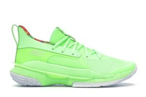 DS UA Curry 7 Sour Patch Kids Lime Green size 8.5 Under Armour Basketball Shoes $200.00