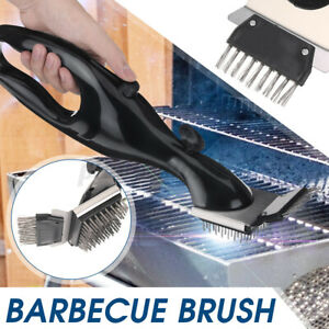 Barbecue Cleaning Brush Stainless Steel BBQ Outdoor Grill Cleaner Cooking Tools