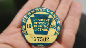 1946 Pennsylvania PA Fishing License 177502