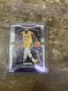 2019 2020 Prizm Lebron James Lakers Rookie Card