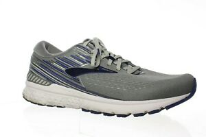 Brooks Mens Adrenaline Gts 19 Grey Blue Running Shoes Size 12 4E 1345158 New $50.00