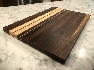 "10 1/2x16"" Maple And Walnut Cutting Boards"