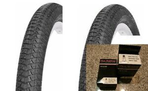 PAIR 2 OF VEE RUBBER 20X1.95 BICYCLE BIKE TIRE BMX FREESTYLE V186 2 TUBES