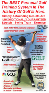 Most Important Stretch in Golf Misig Training $89.00