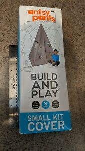 Antsy Pants RARE Build Play Camp Teepee Small Cover Kit Works w All Build Kits