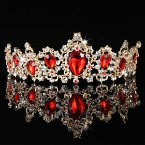 Tiara Crown for Women Rhinestone Queen Crowns Wedding Tiara Crowns Headband $13.59