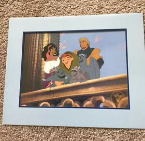 Disney Hunchback Of Notre Dame 1997 Exclusive Commemorative Lithograph 11x14 $5.00