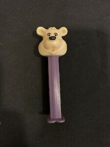 Vintage FAO Schwarz Bear Pez White Purple $9.99