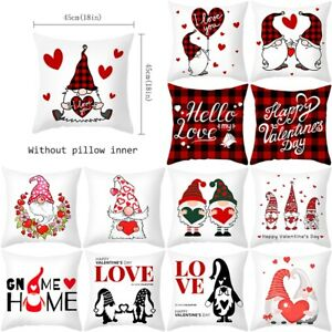18quot; Christmas Xmas Cushion Cover Pillow Case Cotton Linen Home Sofa Throw Decor $3.99
