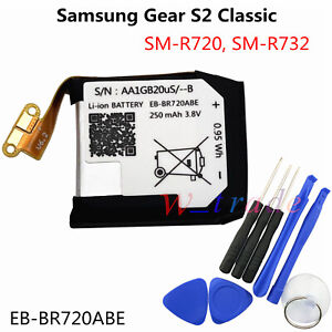 New Battery EB BR720ABE For Samsung Gear S2 Classic SM R720 SM R732 250mAh $9.60