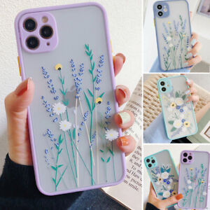 SHOCKPROOF Cute Flower Silicone Case iPhone 12 11 Pro MaxXR XS Max8 Plus Cover