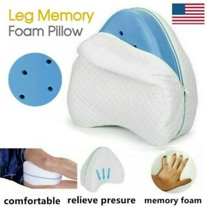 Orthopedic Contour Legacy Leg Pillow for Back Hip Legsamp;Knee Support Firm Soft US