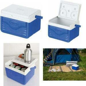 Personal Cooler Food Ice Chest Lunch Box 5 Qt Small Picnic Camping Coleman Blue